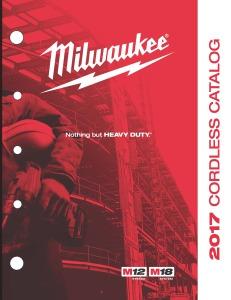 Milwaukee 2017 cordless tools
