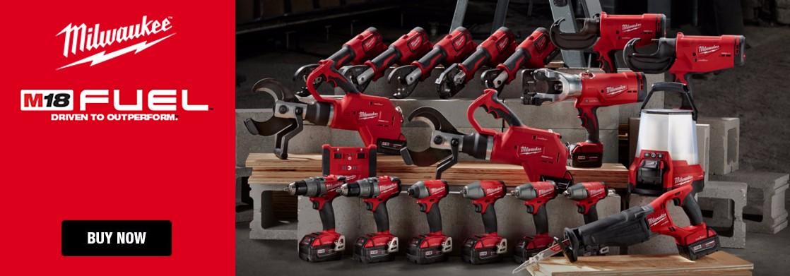 milwaukee3, milwaukee, m18, fuel, power tools, drill, impact, greasegun